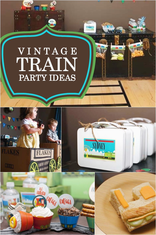 tips planning train themed birthday party