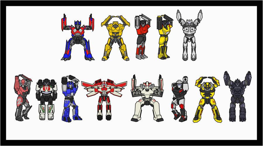 transformers birthday card by silverwolf05 on deviantart