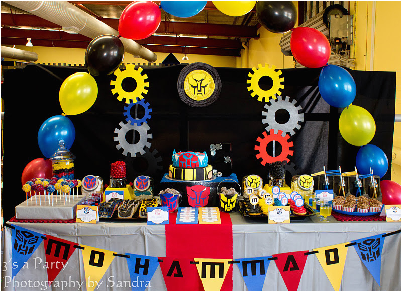 Transformers Birthday Decorations Kara 39 S Party Ideas Transformers Birthday Party Kara 39 S