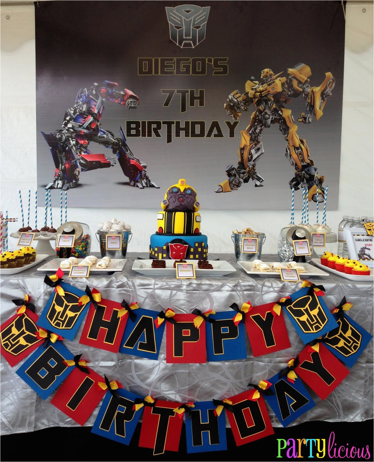 transformers birthday bash