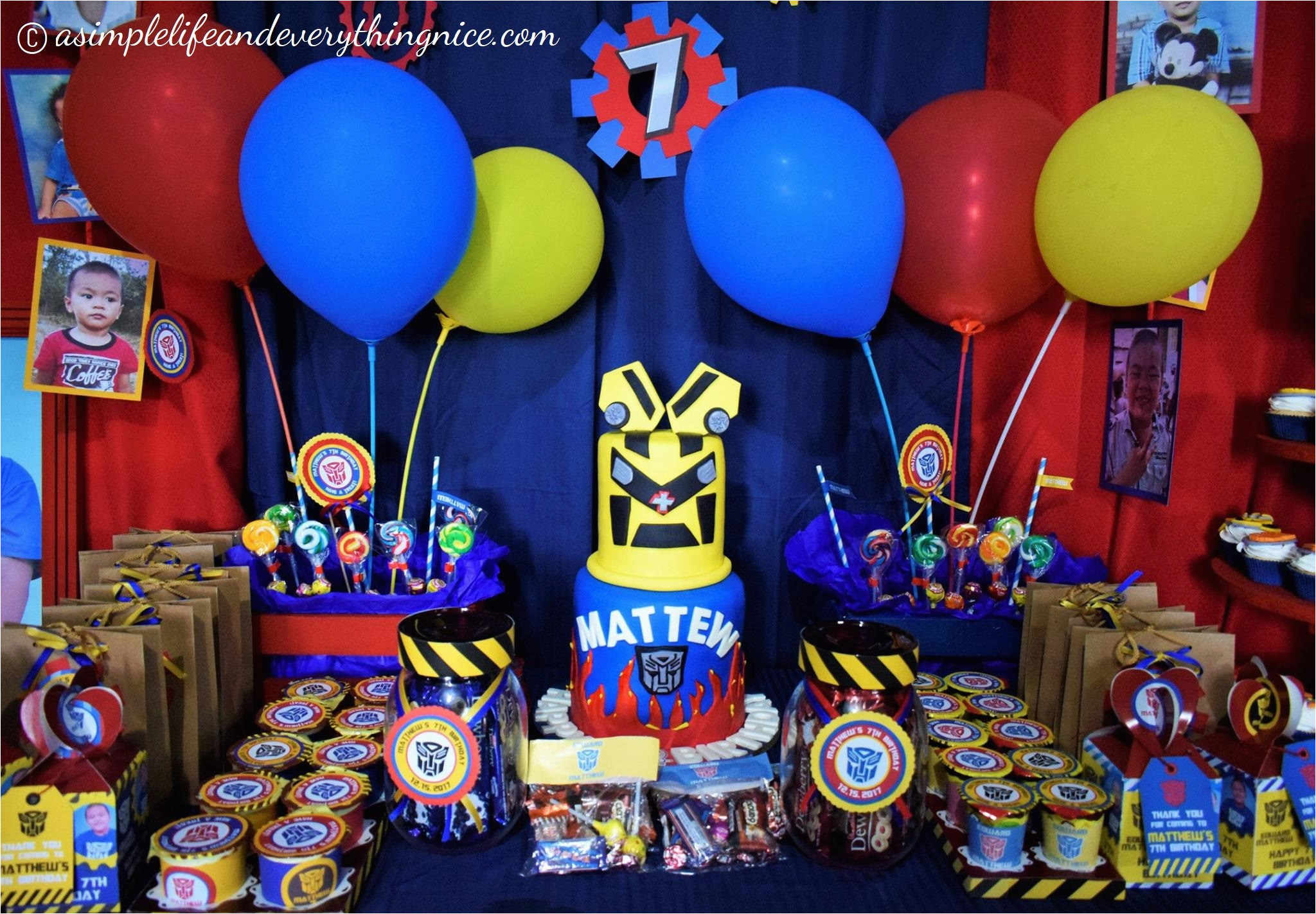 transformers birthday party decorations budget free printables
