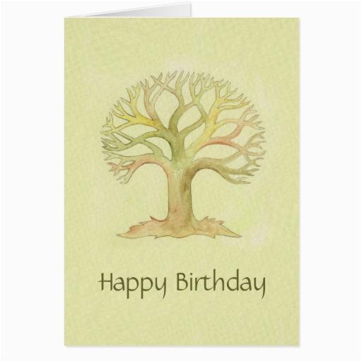 Tree Of Life Birthday Card Colorful Tree Of Life Birthday Card Zazzle