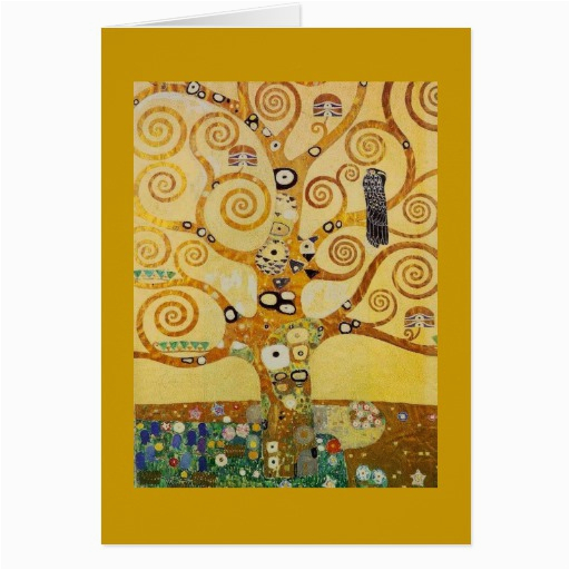 tree of life by klimt cards 137278640427770829