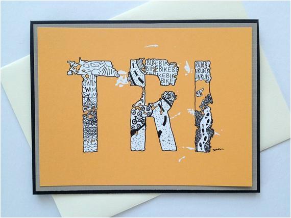 items similar to tri zentangle doodle handmade triathlon