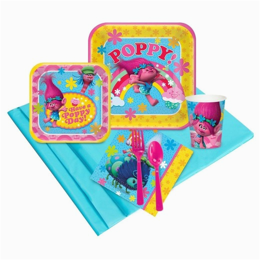Trolls Birthday Invitations Walmart 16 Guest Party Pk Target