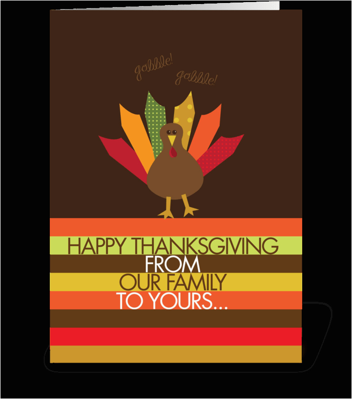 ready for turkey send this greeting card designed by