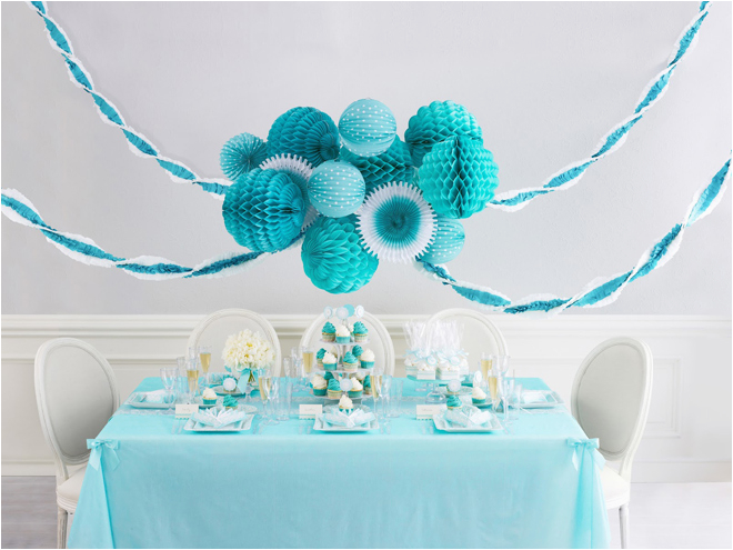 Turquoise Birthday Decorations Celebrate In Style With Martha Celebrations Pizzazzerie