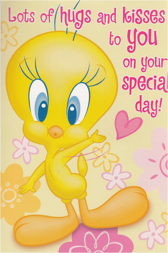 Tweety Birthday Card Hallmark Interactive Birthday Card Girl Tweety Bird