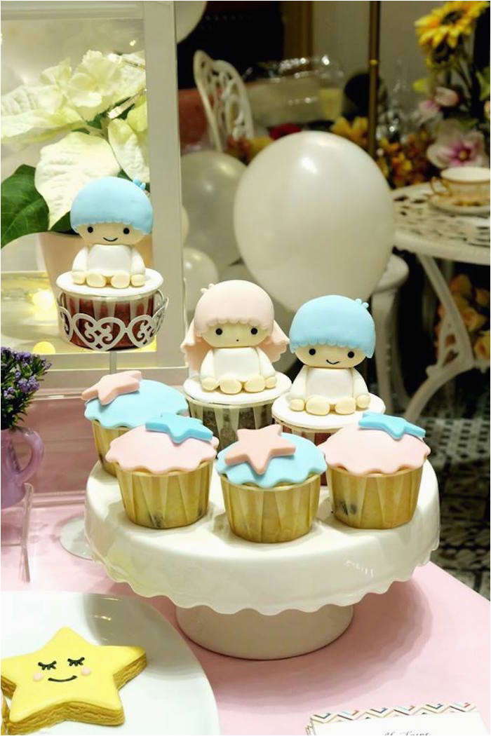 little star twins birthday party