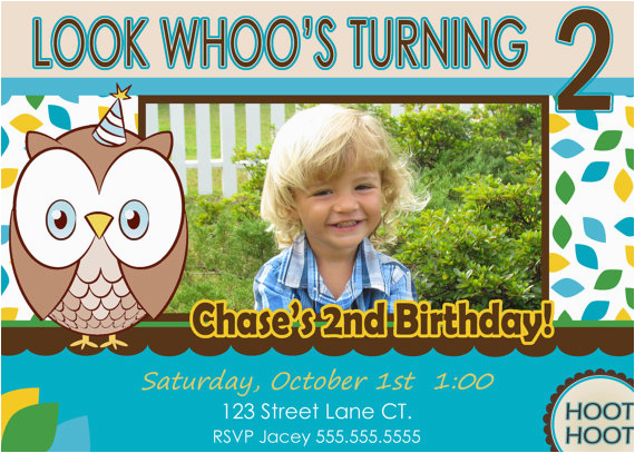 Two Year Old Birthday Invitation Wording 2 Party