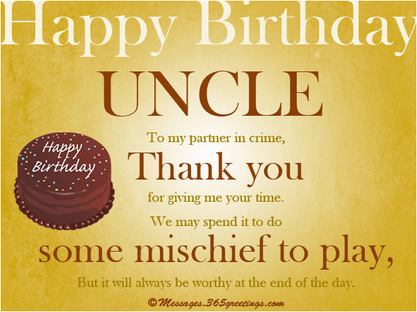 Uncle Birthday Card Messages Wishes For 365greetings Com