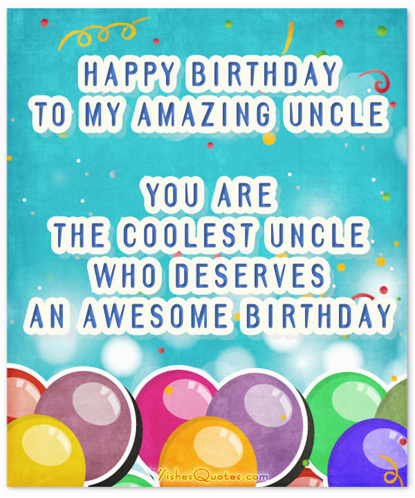 Uncle Birthday Card Messages Happy Wishes For Wishesquotes