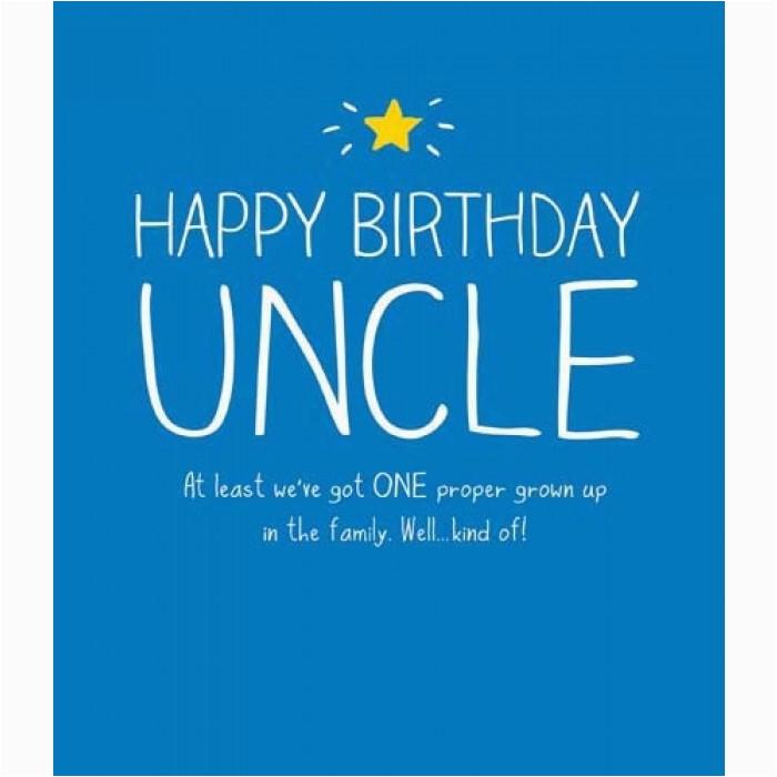 uncles birthday