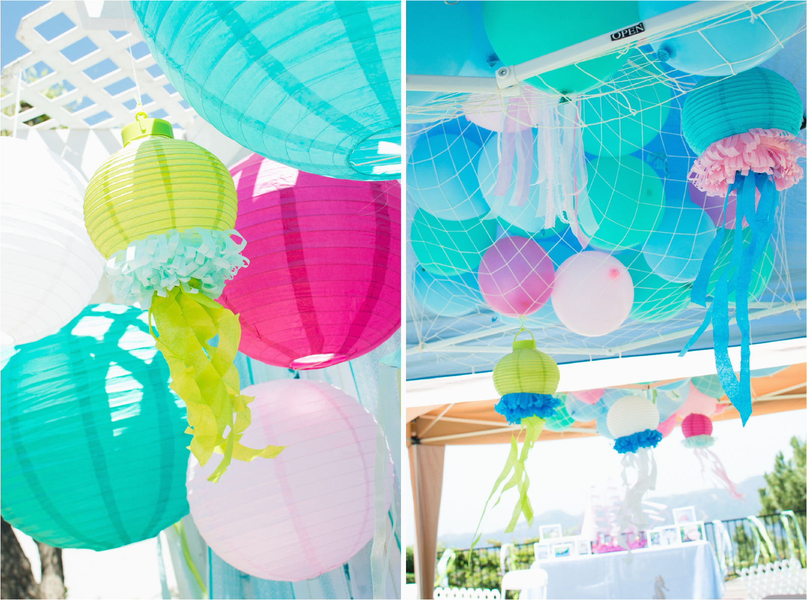 Under The Sea Birthday Decoration Ideas Decorations Mermaid Party