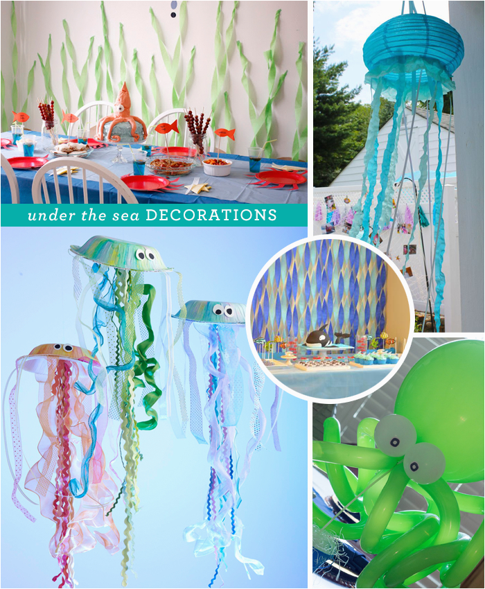Under the Sea Birthday Decoration Ideas Under the Sea Party Idea American Greetings