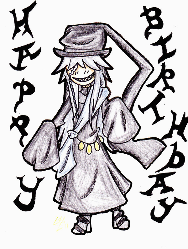 birthday card the undertaker by lingra on deviantart