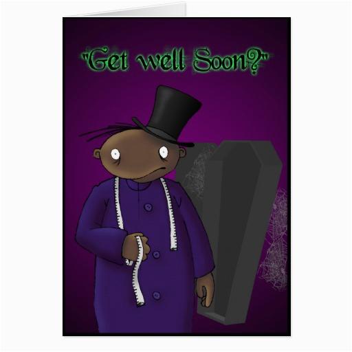 undertaker dark derek greeting card zazzle