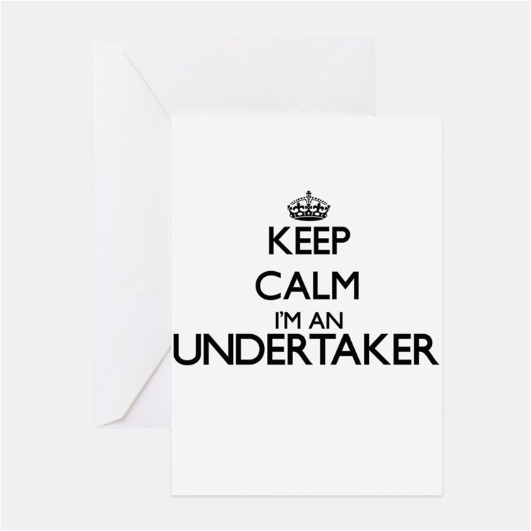 undertaker stationery cards invitations greeting cards