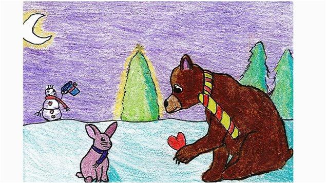 unicef christmasholiday cards 2016 canadian winner