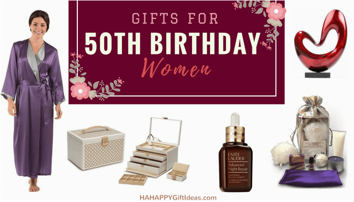 the best 50th birthday gifts for women hahappy gift ideas