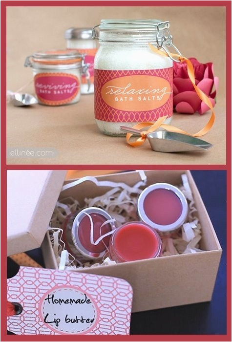 Unique Homemade Birthday Gifts for Her Diy Bath Beauty Gift Ideas Handmade Diy Gifts for Her