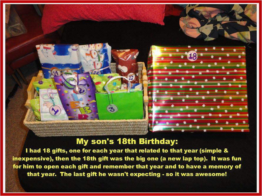 Unusual 18th Birthday Gifts For Her Gift To My Daughter Party Ideas