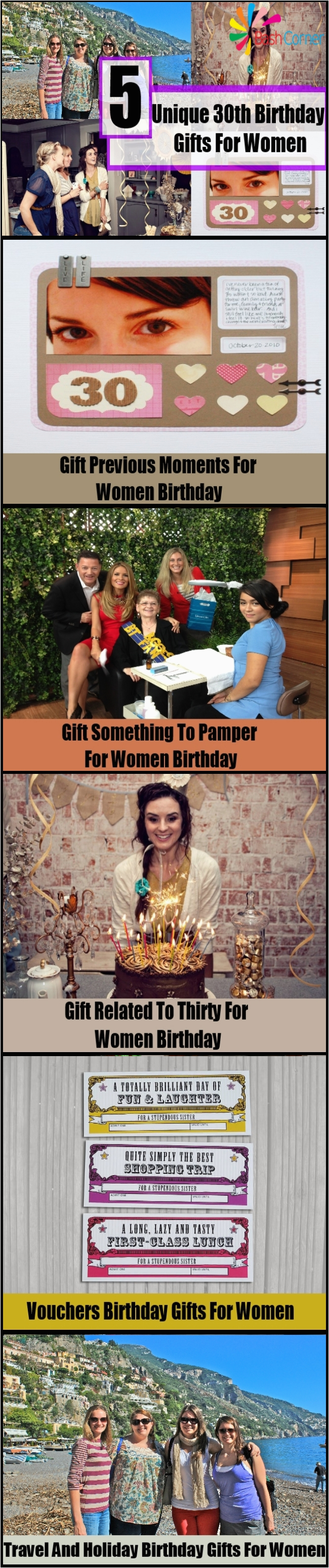 Unique 30th Birthday Gifts For Women Gift Ideas A