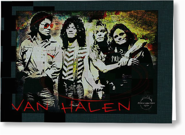 van halen ain 39 t talkin 39 39 bout love digital art by