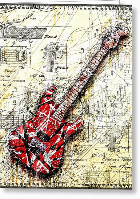 van halen greeting cards fine art america