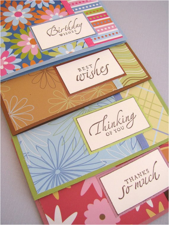 variety pack greeting cards set of 4