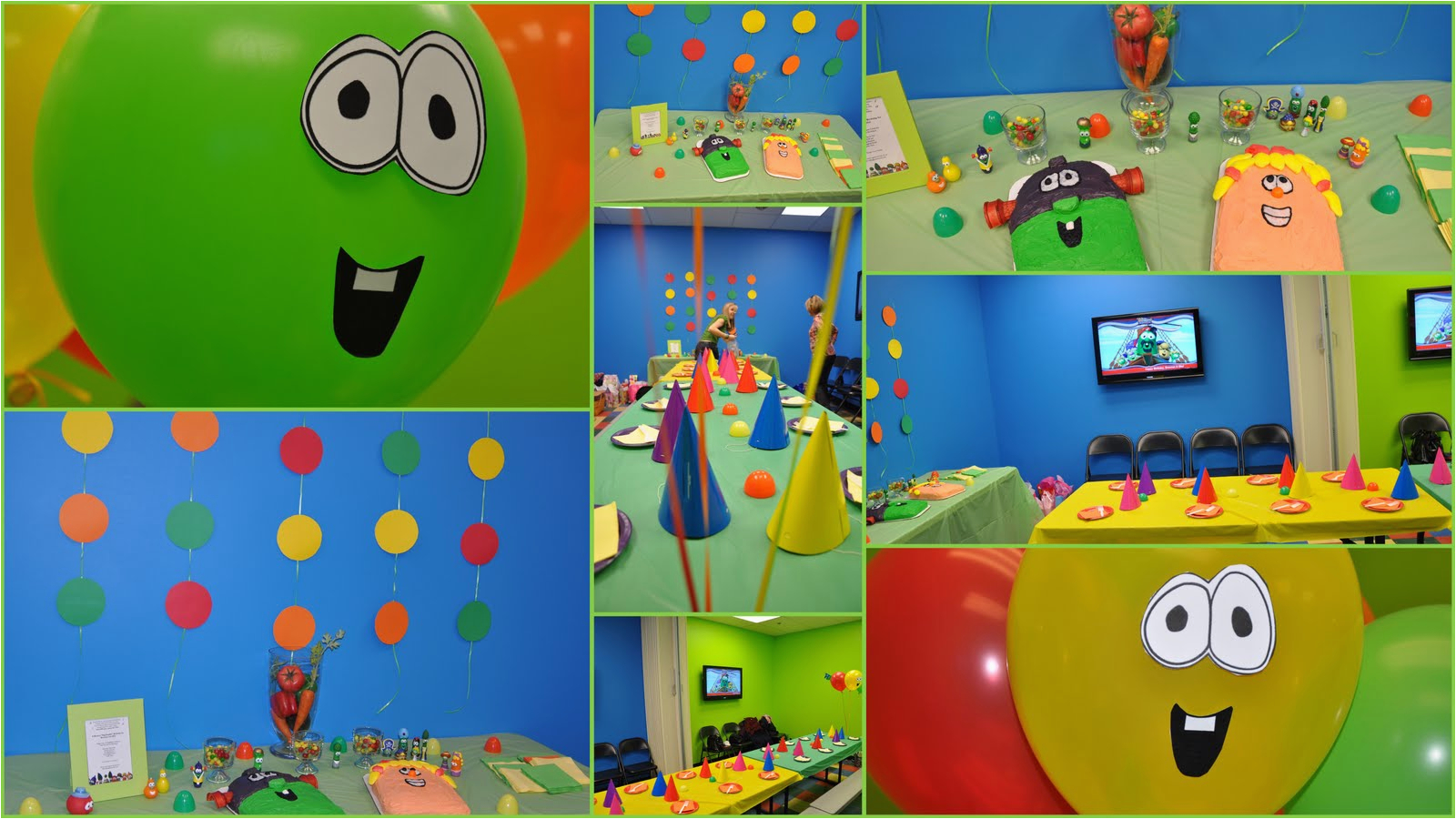 veg double bouncy birthday
