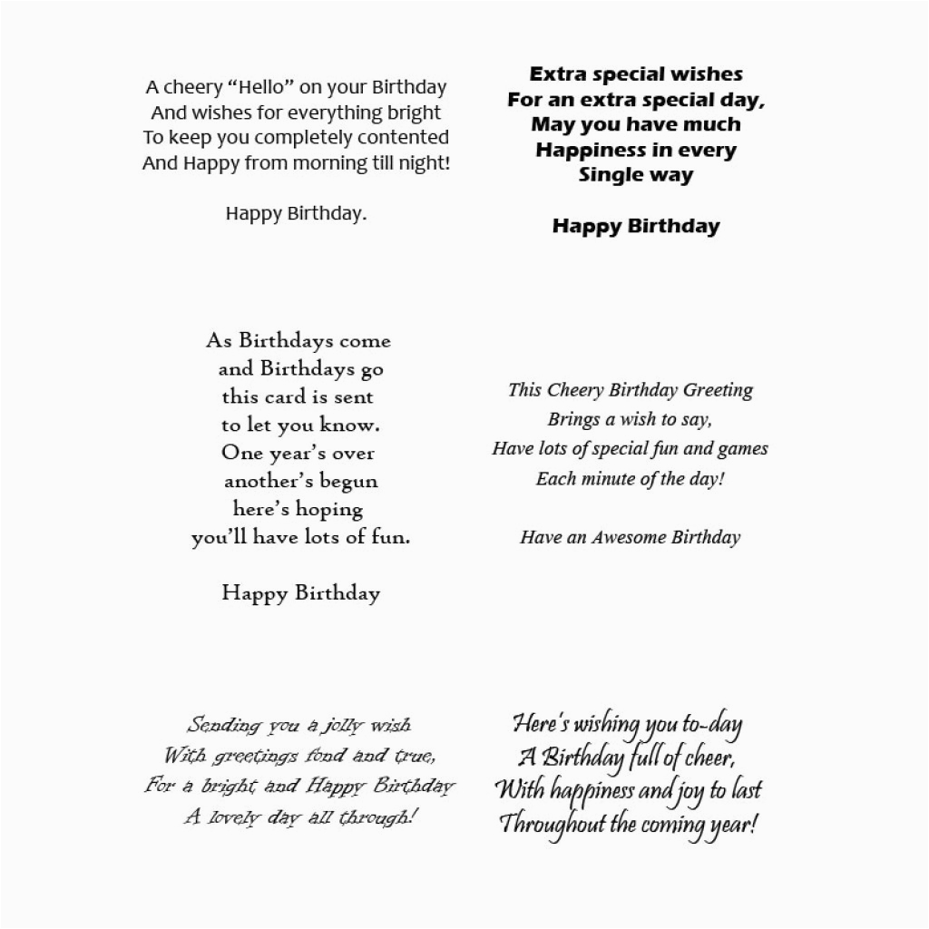 verses for cards
