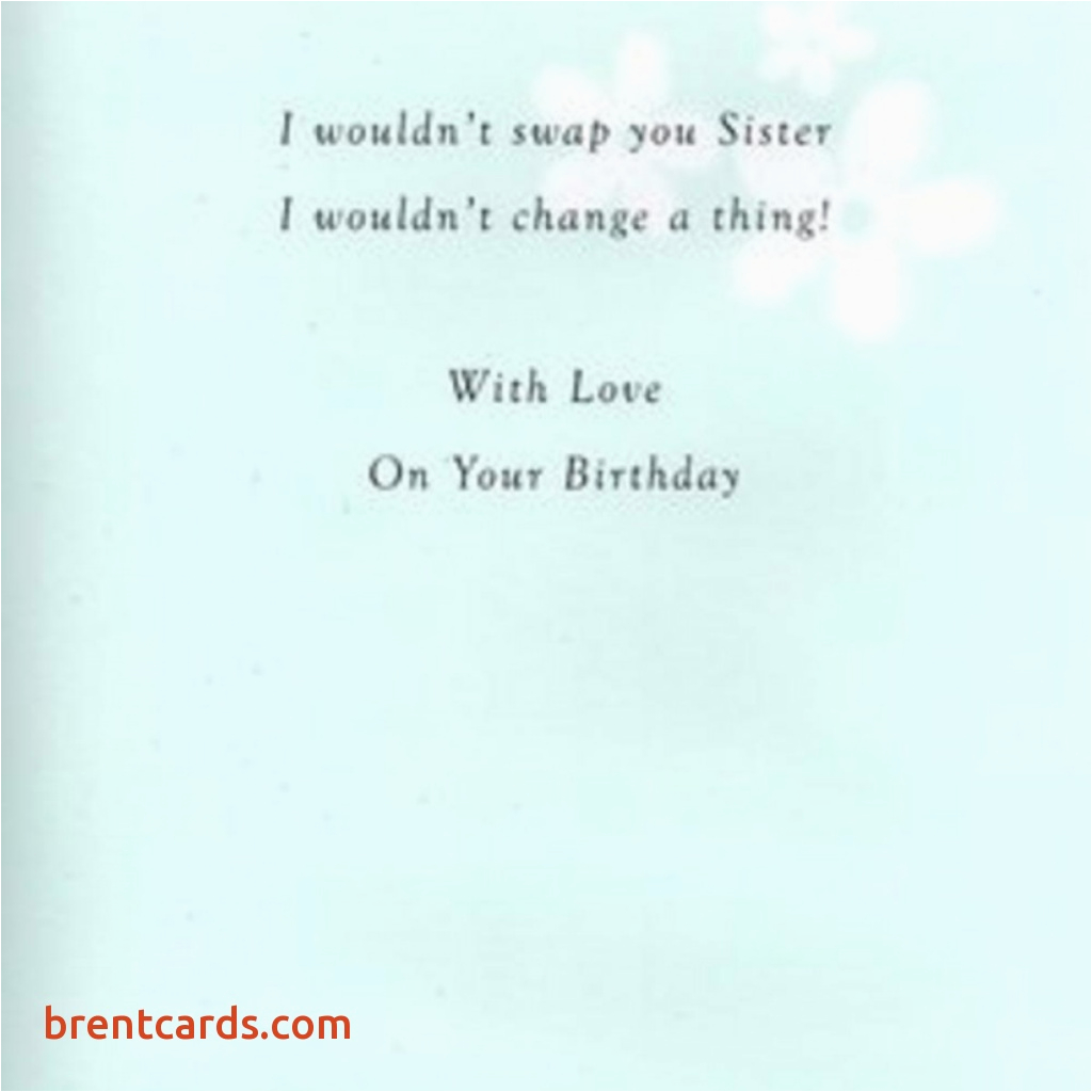 Verses For Birthday Cards Sister Greeting Card Free Design Ideas