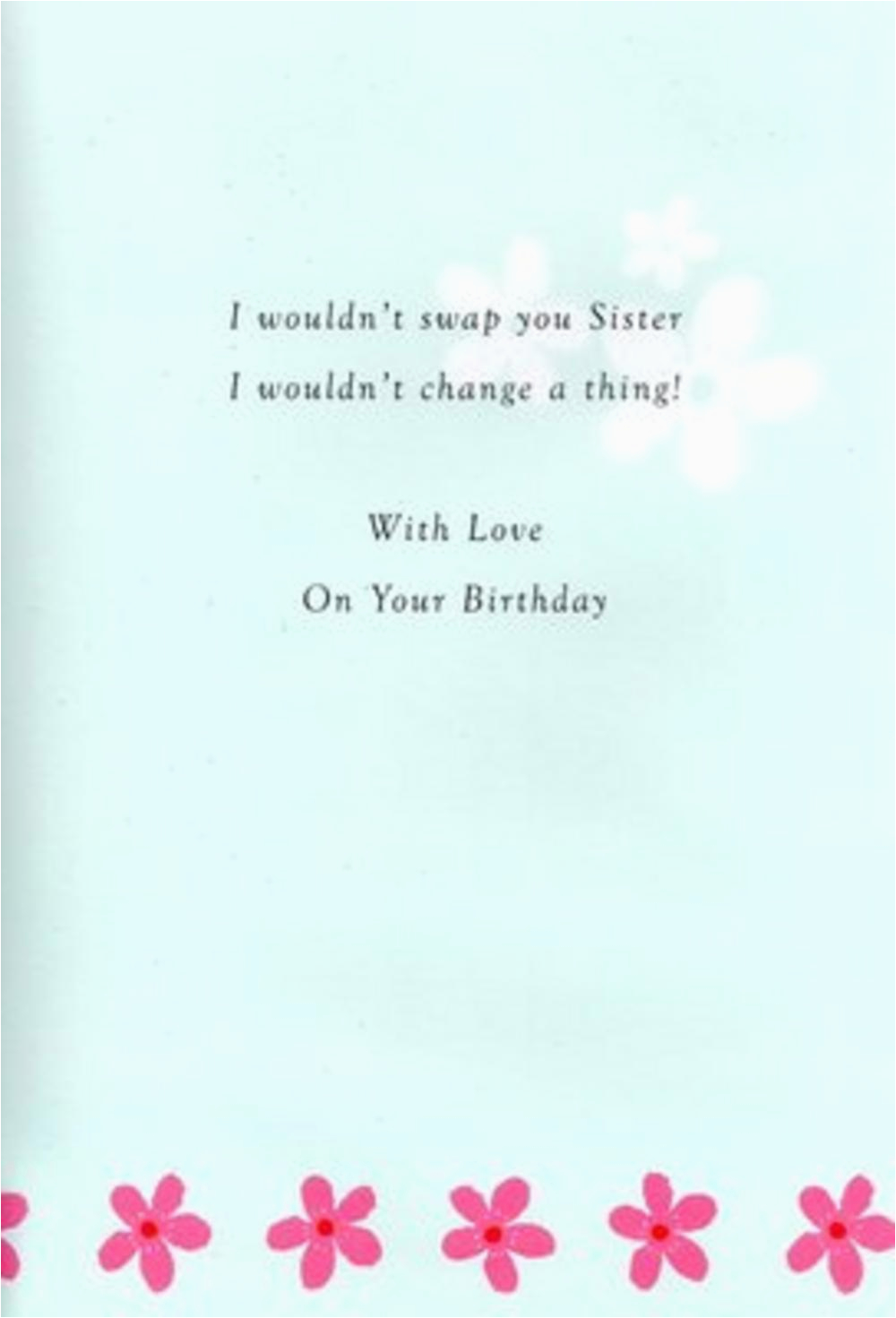 Verses for Birthday Cards for Sister Sister Birthday Poetry In Motion Card Cards Love Kates