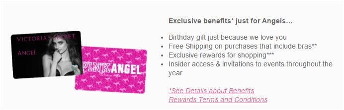 5c972b2b5 Victoria S Secret Angel Card Birthday Gift Victoria 39 S Secret Angel  Credit Card Review Comenity