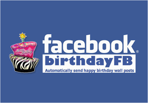 Schedule Facebook Birthday Greetings