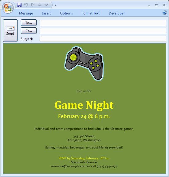 Video Game Birthday Party Invitation Template Free Download Printables Templates E Mail