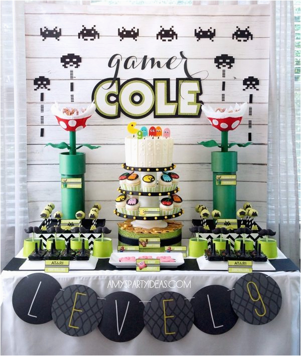 game truck party ideas video game themed birthday party