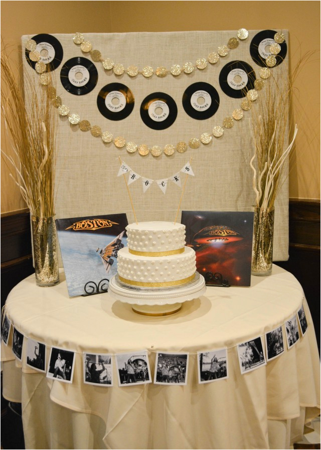 a vintage rock and roll 50th birthday featuring tommy decarlo