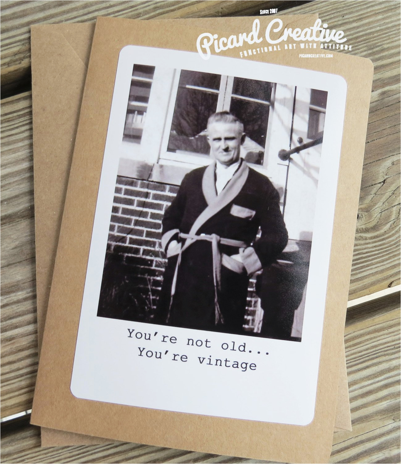 Vintage Birthday Cards For Men Funny Man Greeting Card You 39 Re Not Old