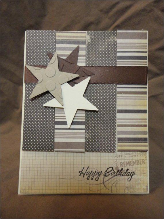 items similar to men vintage masculine birthday card on etsy