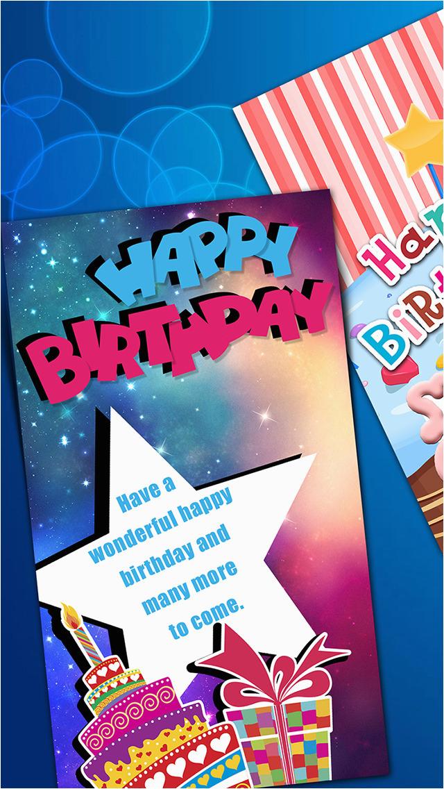 app shopper virtual b day card make r wish happy
