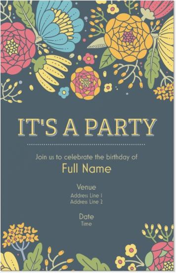 90 Vista Print Birthday Invites