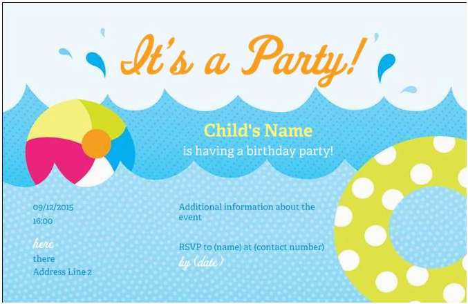 vistaprint party invitations