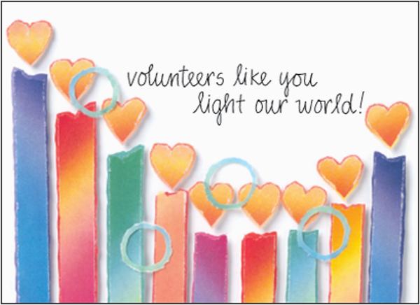 volunteer birthday cards bl173v