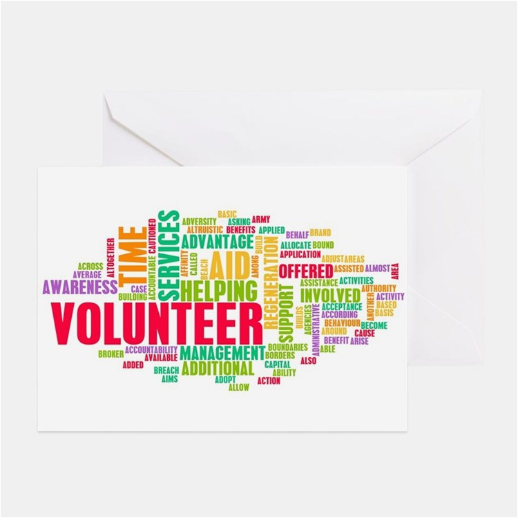 Volunteer Birthday Cards Volunteer Greeting Cards Card Ideas Sayings Designs
