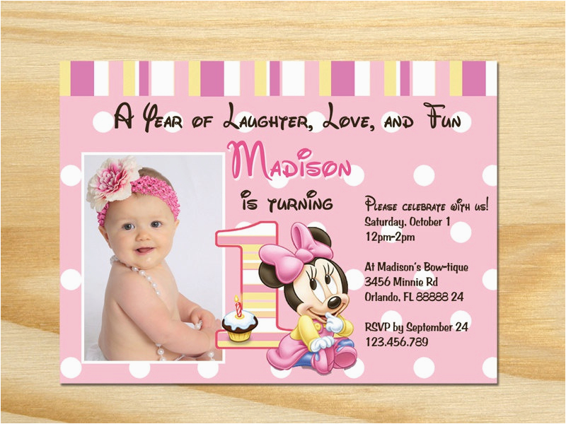 Walgreens 1st Birthday Invitations How To Create Party Designs Ideas
