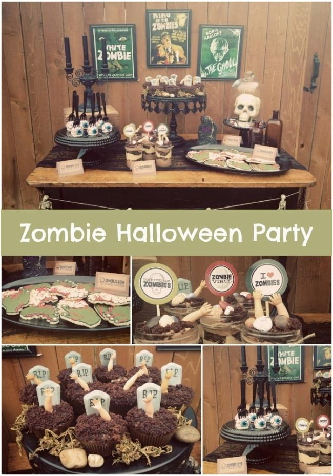 Walking Dead Birthday Decorations 13 And Zombie