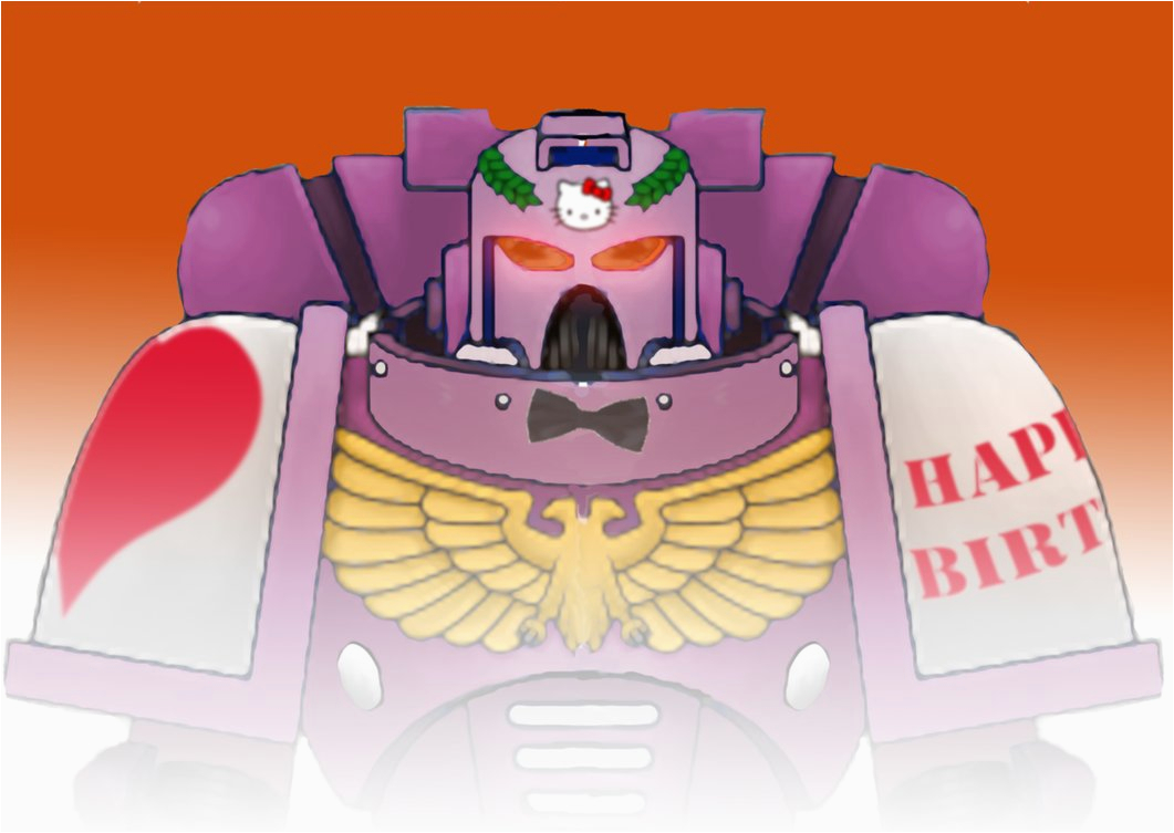 space marine birthday card 160698306