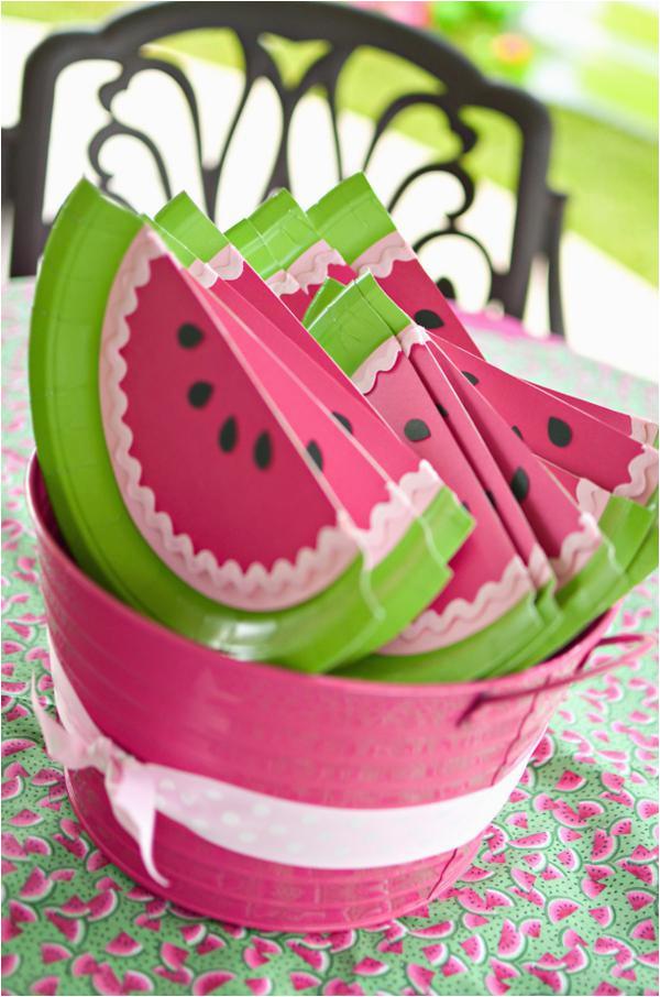 Watermelon Birthday Party Decorations Kara 39 S Party Ideas Watermelon Fruit Summer Girl 1st